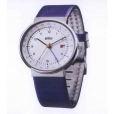 Braun Klassische Armbanduhr BN0142 WHBLG, schwarz/blau