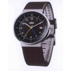Braun Klassische Armbanduhr BN0142 BKBRG, schwarz/braun/silber