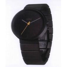 Braun Klassische Armbanduhr BN0171 BKBKG, schwarz/schwarz