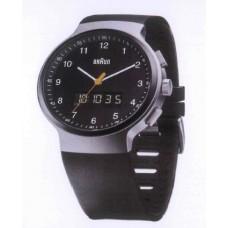 Braun Digital-Analoge Armbanduhr BN0159 SLBKBKG, schwarz/silber