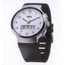 Braun Digital-Analoge Armbanduhr BN0159 WHBKG, weiß/schwarz/silber