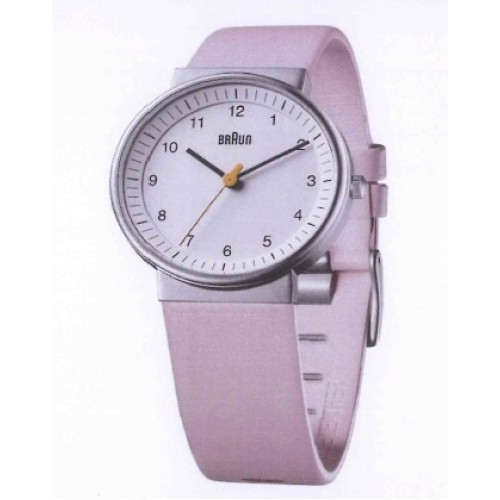 braun klassische damen armbanduhr bn0031 whlpkl wei rosa. Black Bedroom Furniture Sets. Home Design Ideas