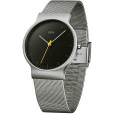Braun Klassische Armbanduhr BN0211 BKSLMHG, schwarz/silber