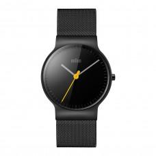 Braun Klassik Damen-Armbanduhr BN0211 BKMHL, schwarz/schwarz
